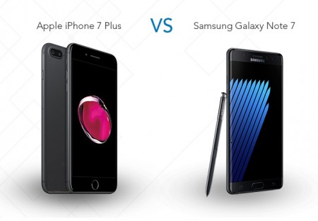 Apple iPhone 7 Plus VS Samsung Galaxy Note 7