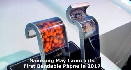 Samsung Bendable Smartphone in 2017