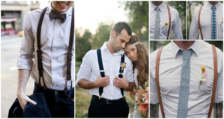 Groom Belts Suspenders