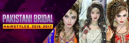 Latest Pakistan Bridal Hair Styles 2016-2017