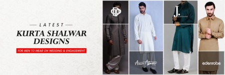 Latest Kurta Shalwar Designs for Men to Wear On Wedding and Engagement
