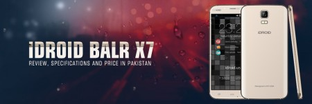 iDroid Balr X7 Price in Pakistan