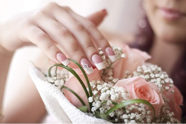 nail art for wedding