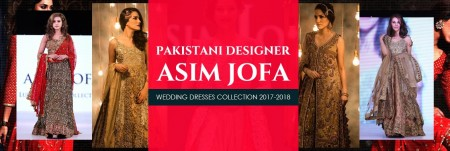 Asim Jofa Wedding Dresses Collection 2017-2018