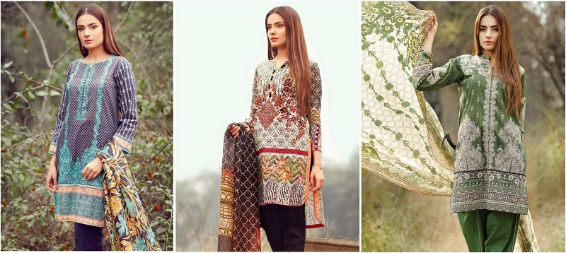 Eden Lawn Dresses Collection