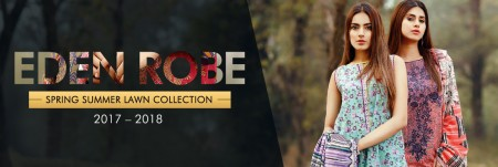 Eden Robe Lawn Dresses Collection 2017-2018