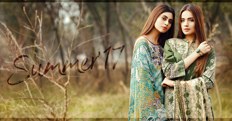 Eden Robe Summer Lawn Collection 2017