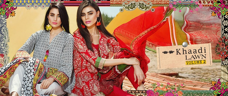 Khaadi Lawn Collection 2017