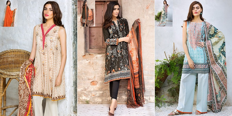Khaadi Lawn Dresses Collection