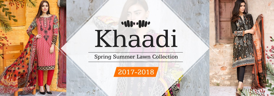 Khaadi Spring Summer Lawn Collection 2017