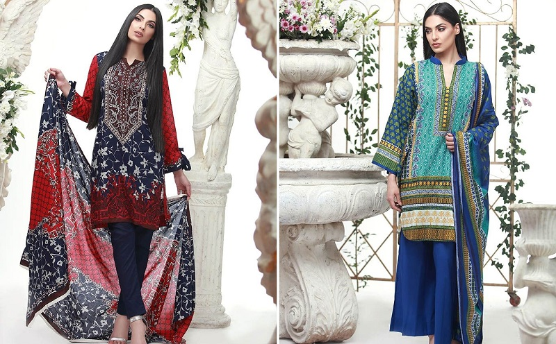 Lala Classic Spring Summer Lawn Prints 2017