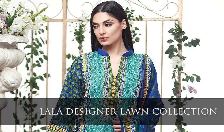 Lala Designer Lawn Collection 2017