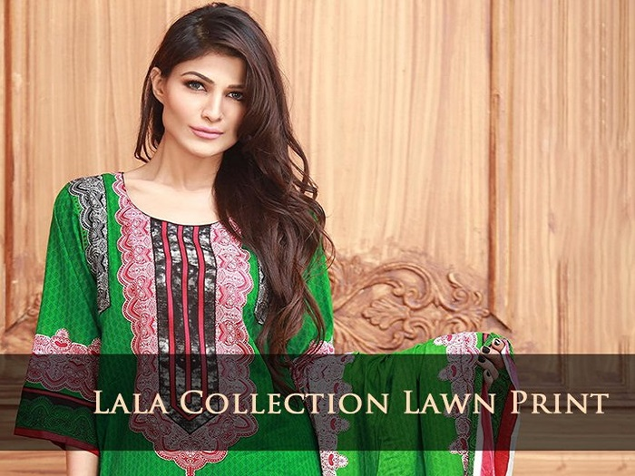 Lala Lawn Collection 2017