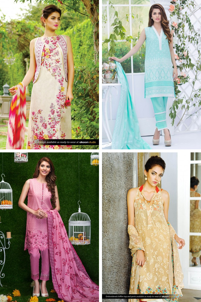 Al Karam Digital Lawn Collection