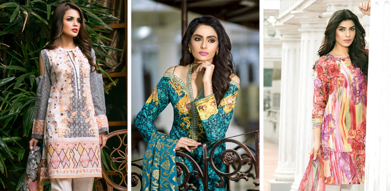 Gul Ahmed Lawn Collection 2017