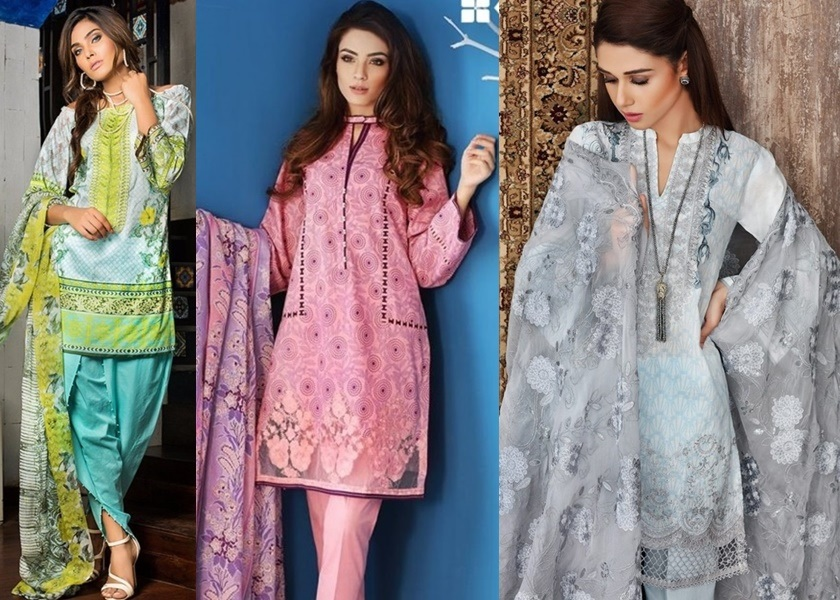 Gul Ahmed Lawn Suits