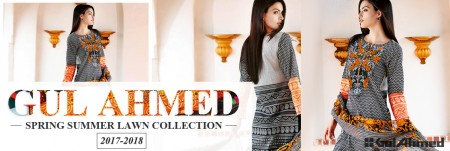 Gul Ahmed Summer Lawn Collection 2017-2018
