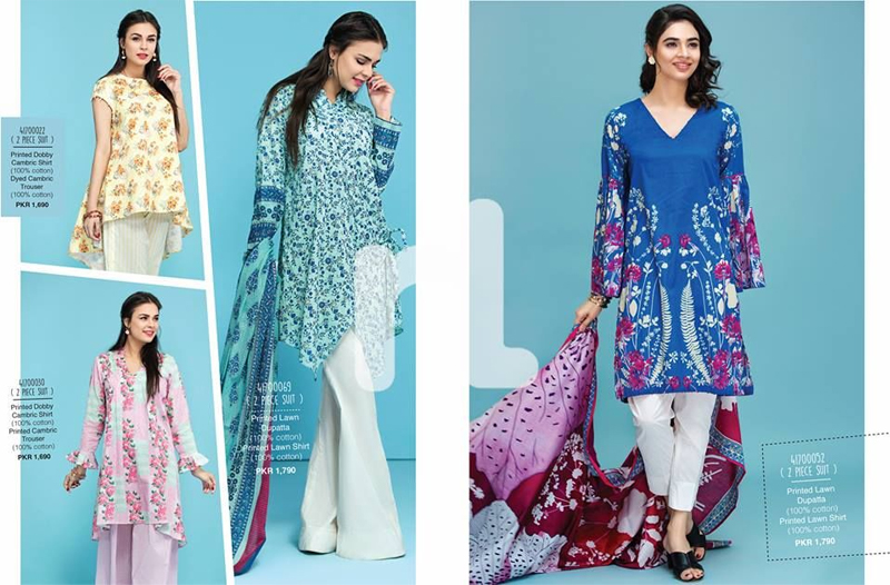 Nishat Linen Lawn Collection