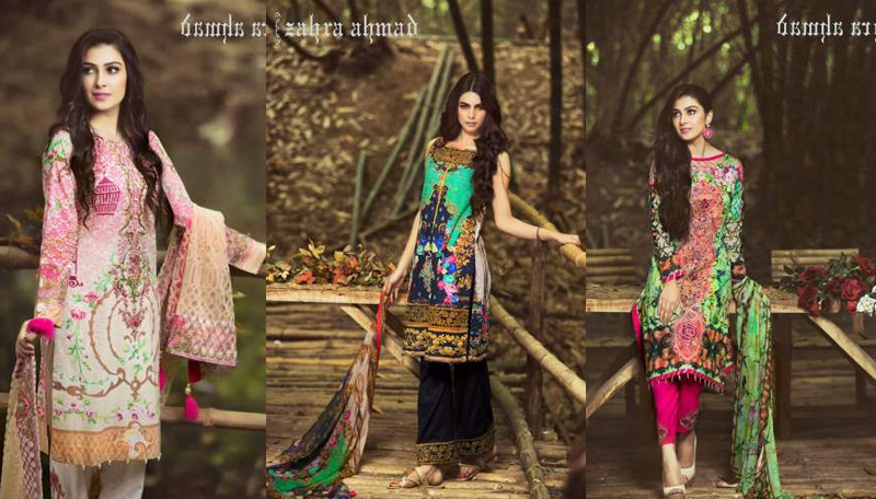 Zahra Ahmad Lawn Collection
