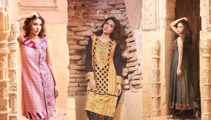 Zahra Ahmad Lawn Dresses Collection