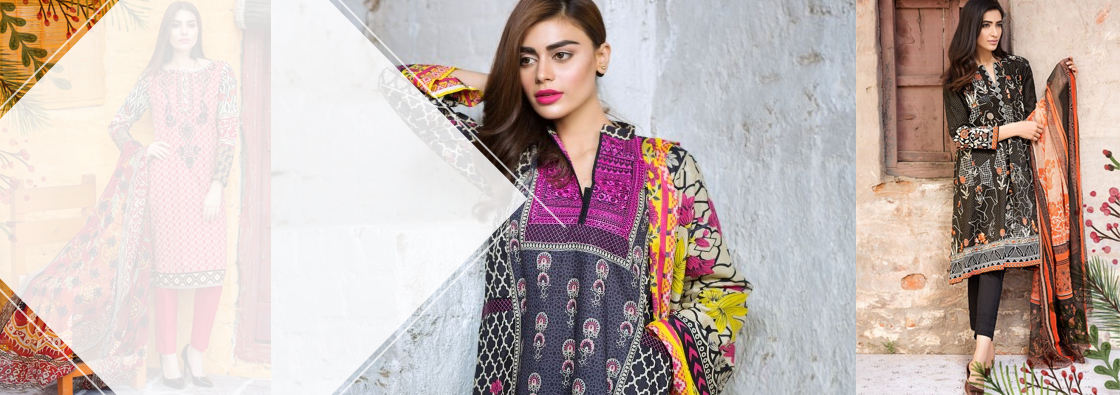 Khaadi Spring Summer Lawn Collection 2017-2018