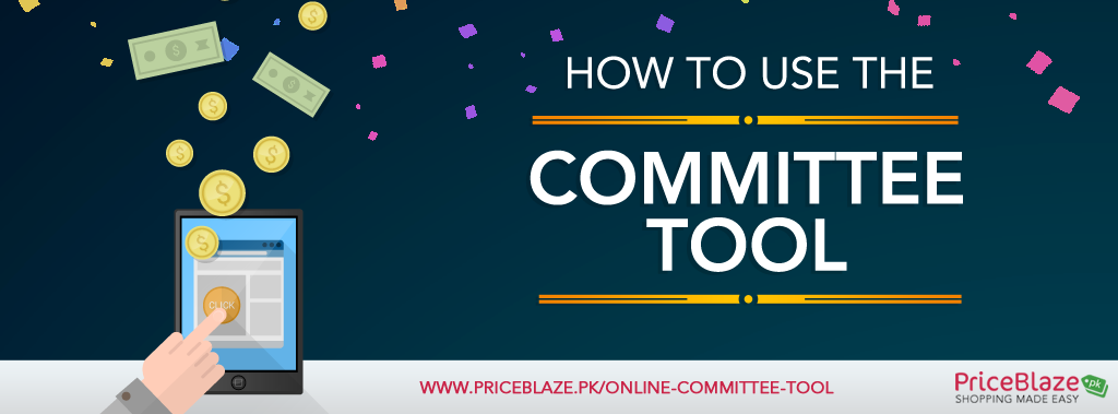 how to use priceblaze committee management tool online