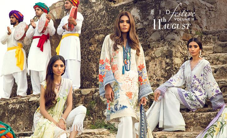 Modern Designs of Sapphire Eid Collection 2017