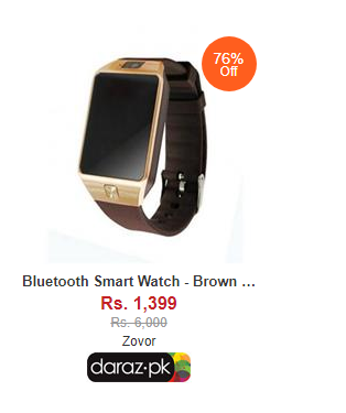 smart watches price in pakistan