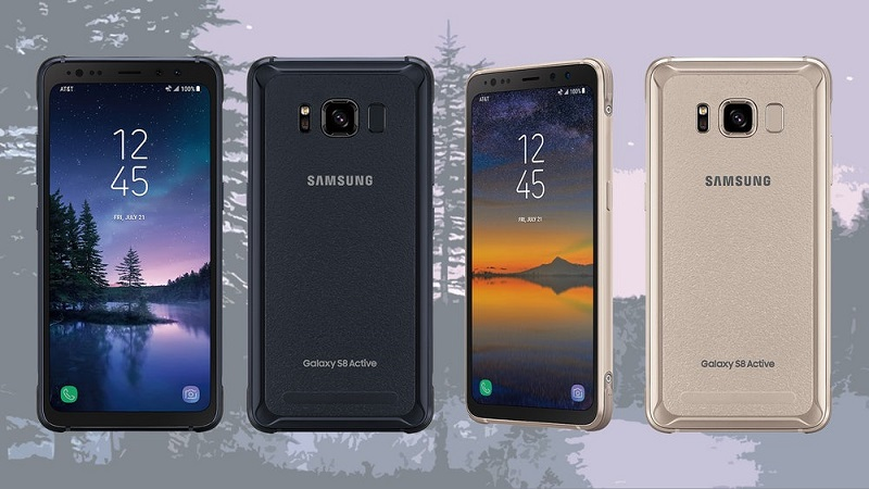 Samsung Galaxy S8 Active Design